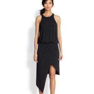 Rowan asymmetric drop waist dress